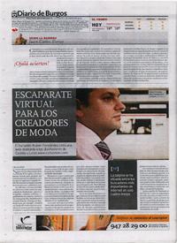 Rubén Fernández en Diario de Burgos