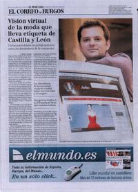 Rubén Fernández en el Mundo Correo de Burgos